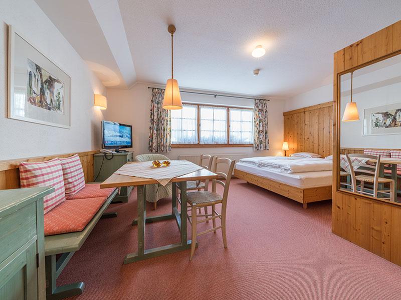Appartement 31qm – Wohn-/Schlafbereich