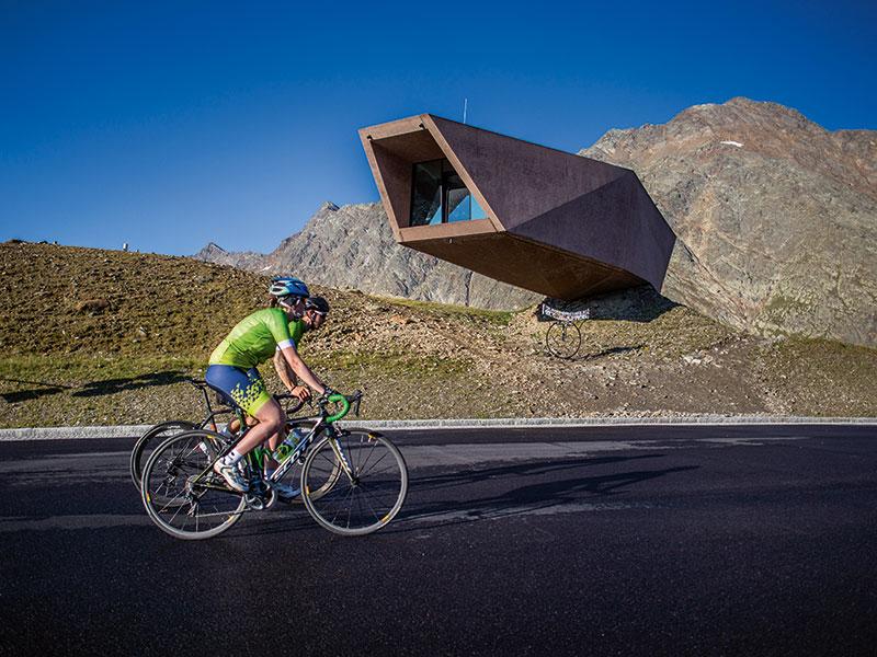 Rennrad fahren am Timmelsjoch