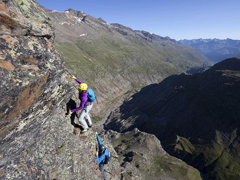 Klettersteig Schwärzenklamm