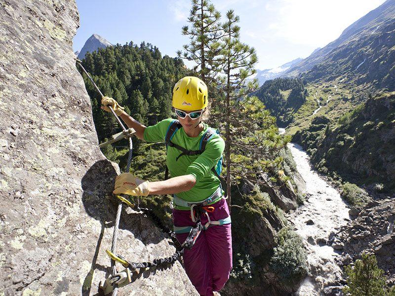 Klettersteig Zirbenwald